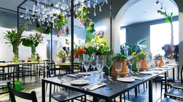 Sala del ristorante - Potafiori, Milan