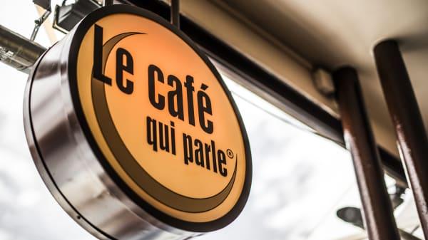 Détail - Le Café Qui Parle, Paris