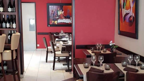 Salle du restaurant - Le Grenadin, Lorient