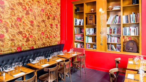 Tables dressées - Le Cosi, Paris