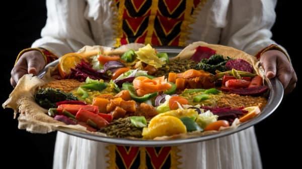 Vegetarian food - Addis Ababa, Amsterdam