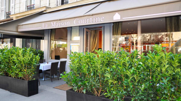 Façade du restaurant - La Maison Courtine, Paris