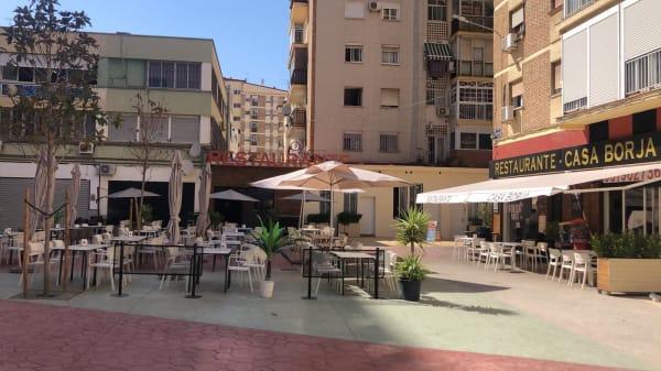 Terraza - Casa Borja, Málaga