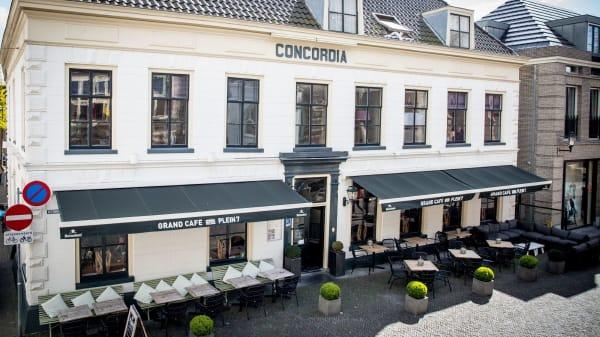 Voorkant restaurant - Grand café Plein 7, Woerden