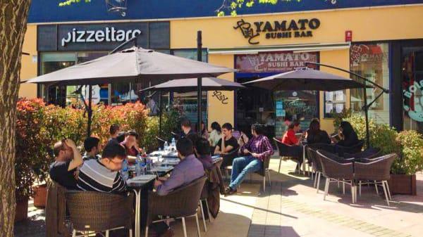 Vista terraza - Yamato Sushi Bar, Las Rozas