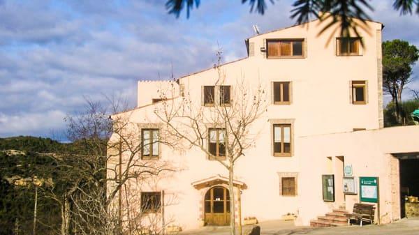 Vista fachada - Masía El Casot, Can Serra I Pedro