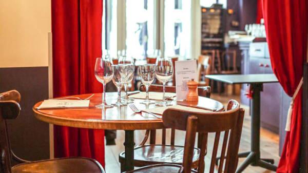 Salon du restaurant - Le Montrosier, Neuilly-sur-Seine