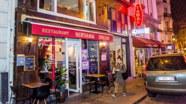 Devanture - Nirvana Dream - Spécialité Népalais, Paris