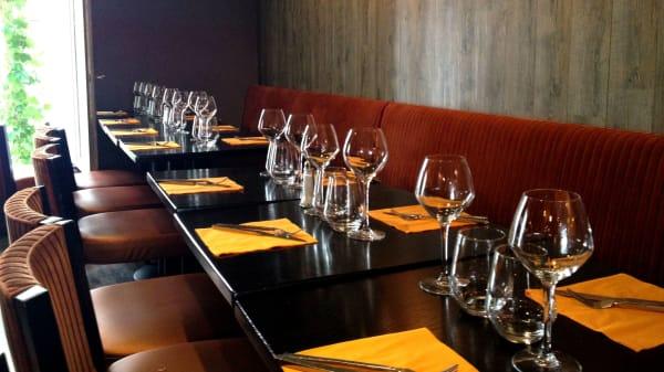 Tables dressées - Coryllis, Paris