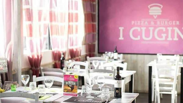 Vista sala - Pizza e Burger I Cugini, Roma