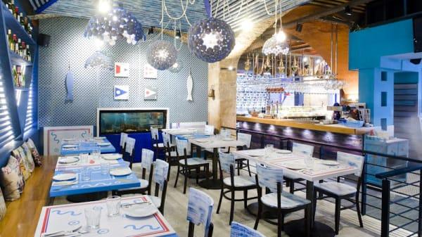 Vista comedor - Boquería 98 (Inactiva), Barcelona