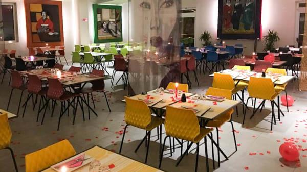 Sala del ristorante - Ginger Moon Asian Fusion, San Lazzaro di Savena