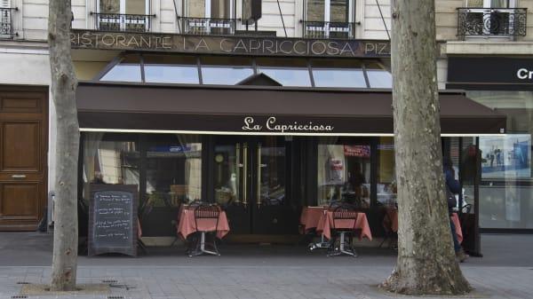 facade - La Capricciosa, Neuilly-sur-Seine