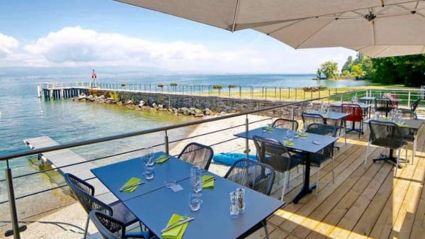 Terrasse - Restaurant LE JOLLA, Anthy-sur-Léman