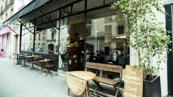 Devanture - La Chambre aux Oiseaux, Paris