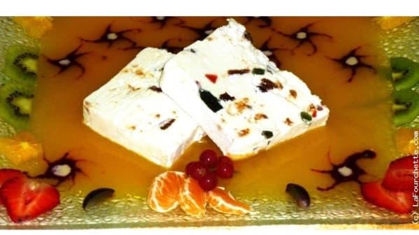 Un dessert - Le Chevalier de l'Auberlac'h, Plougastel-Daoulas