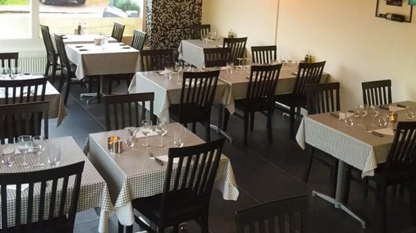 Restaurangens rum - La Cucina, Lund