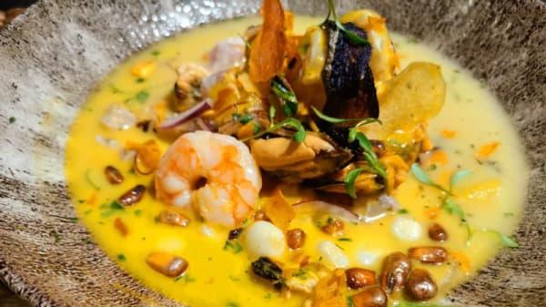 Sugerencia del chef - Lucuma & Camote - Peru Boutique, Barcelona