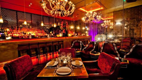 Our Basement Restaurant Area - Mamounia Lounge - Mayfair, London