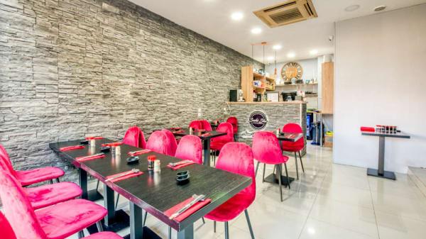 Vue de l'intérieur - Sushisha Asian food and Lounge, Villemomble