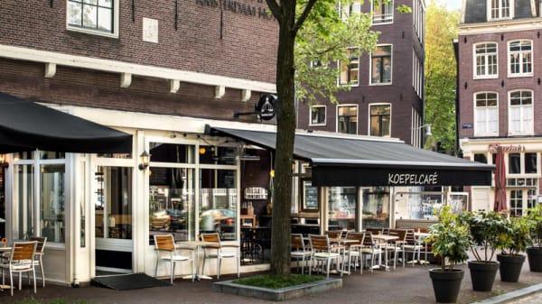 Ingang - Koepelcafe, Amsterdam