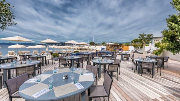 Restaurant de plage Le Cap - Le Cap - Cap d'Antibes Beach Hotel, Antibes