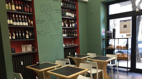 Sala - L'impasto - Pasta, pane e cucina, Milano