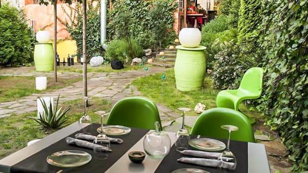 Vista terraza - Fusión Café, Torrelavega