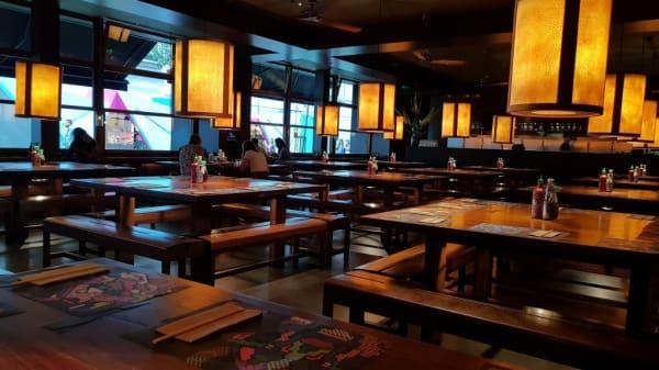 Restaurant - Busaba Bangkok Thai - St Christopher's Place, London