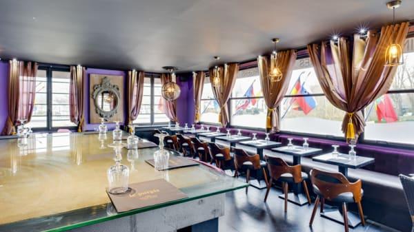 Vue de la salle - Le Purple, L'Isle-Adam
