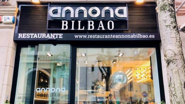 Entrada - Annona Bilbao, Bilbo