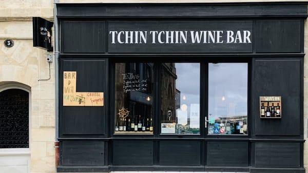 """Entrée - BAR A VIN  """"TCHIN TCHIN"""", Bordeaux"""
