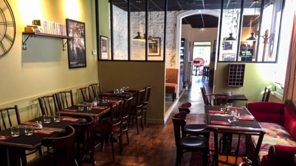Vue de la salle Restaurant - Ch'Ty Bar, Rennes