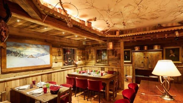 Vista sala - Brasserie La Sapinière, Courmayeur