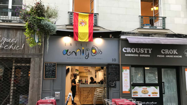 Entrée - Entre Amigos, Nantes