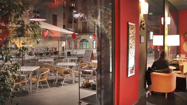 interior y exterior - Alsur Café, Barcelona