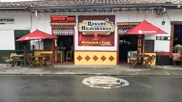Entrada - Rancho Hildebrando, Rionegro