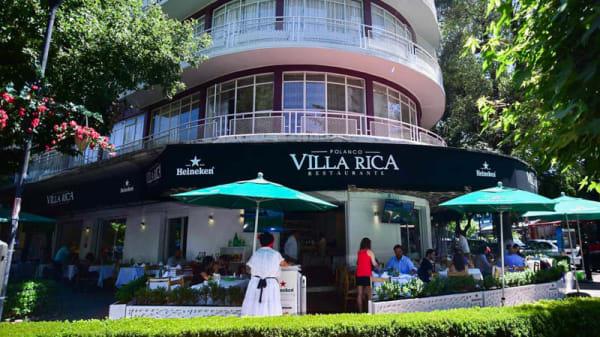 Entrada - Villa Rica (Polanco), Ciudad de México