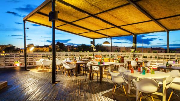 vista terraza - Il Rosso Puerto, Valencia