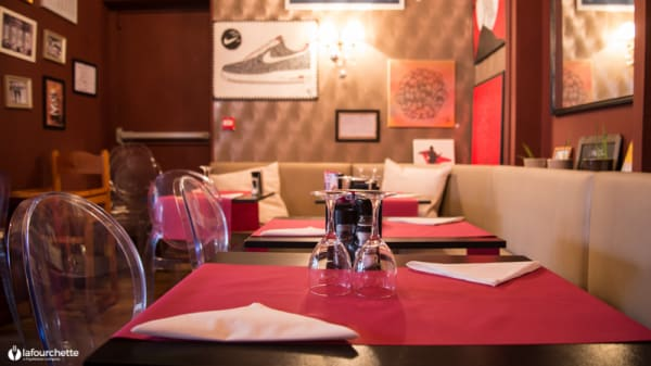 Table dressée - Baristo, Lille