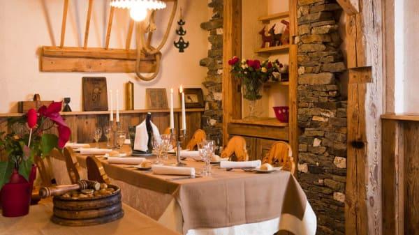 Table - La Table du Sherpa, Saint-Martin-de-Belleville