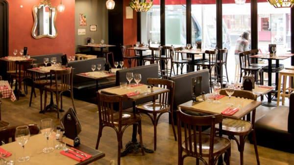 La salle du restaurant - Le Bistrot des Bouchons, Talence