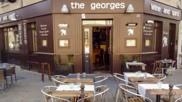 terrasse et façade - The George's, Reims