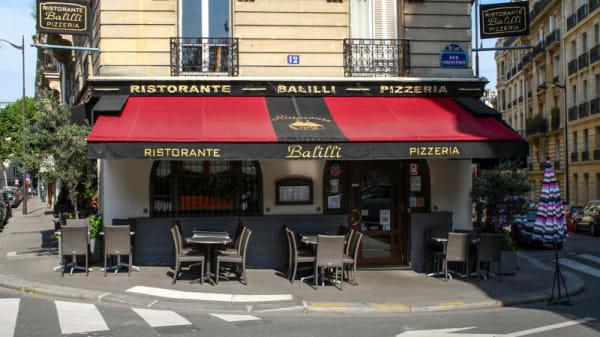 Restaurant Balilli, Paris