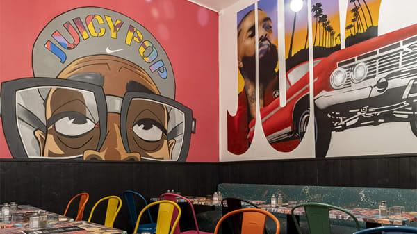 Vue de la salle - Juicy Pop Restaurant, Paris