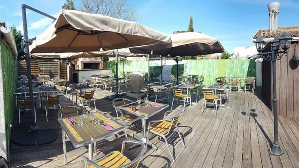Vue de la terrasse - Chez le Grand, Villenave-d'Ornon
