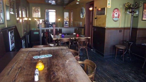 Het restaurant - Café Lusthof, Amsterdam