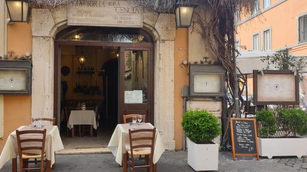 Trattoria Sora Cencia, Roma