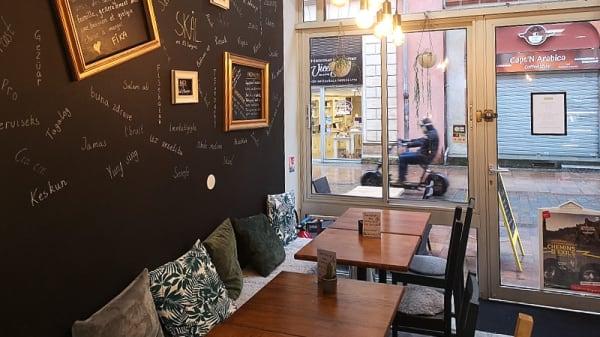 Vue de la salle du haut - Café Fika, Toulouse