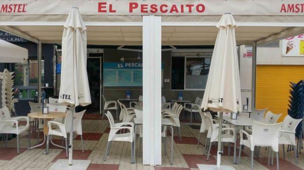 Vista terraza - El Pescaíto, Málaga